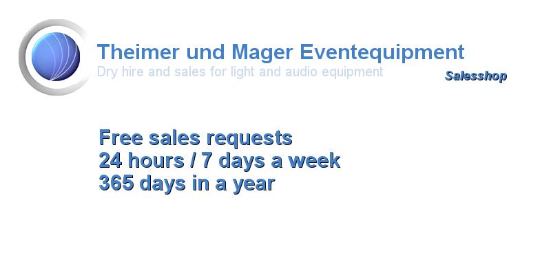 Theimer und Mager Veranstaltungstechnik Salesshop